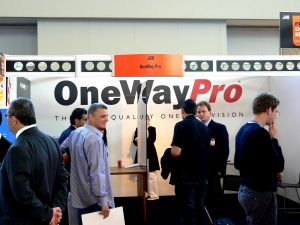 Fespa Digital Europe Amsterdam 2009 - OneWayPro booth